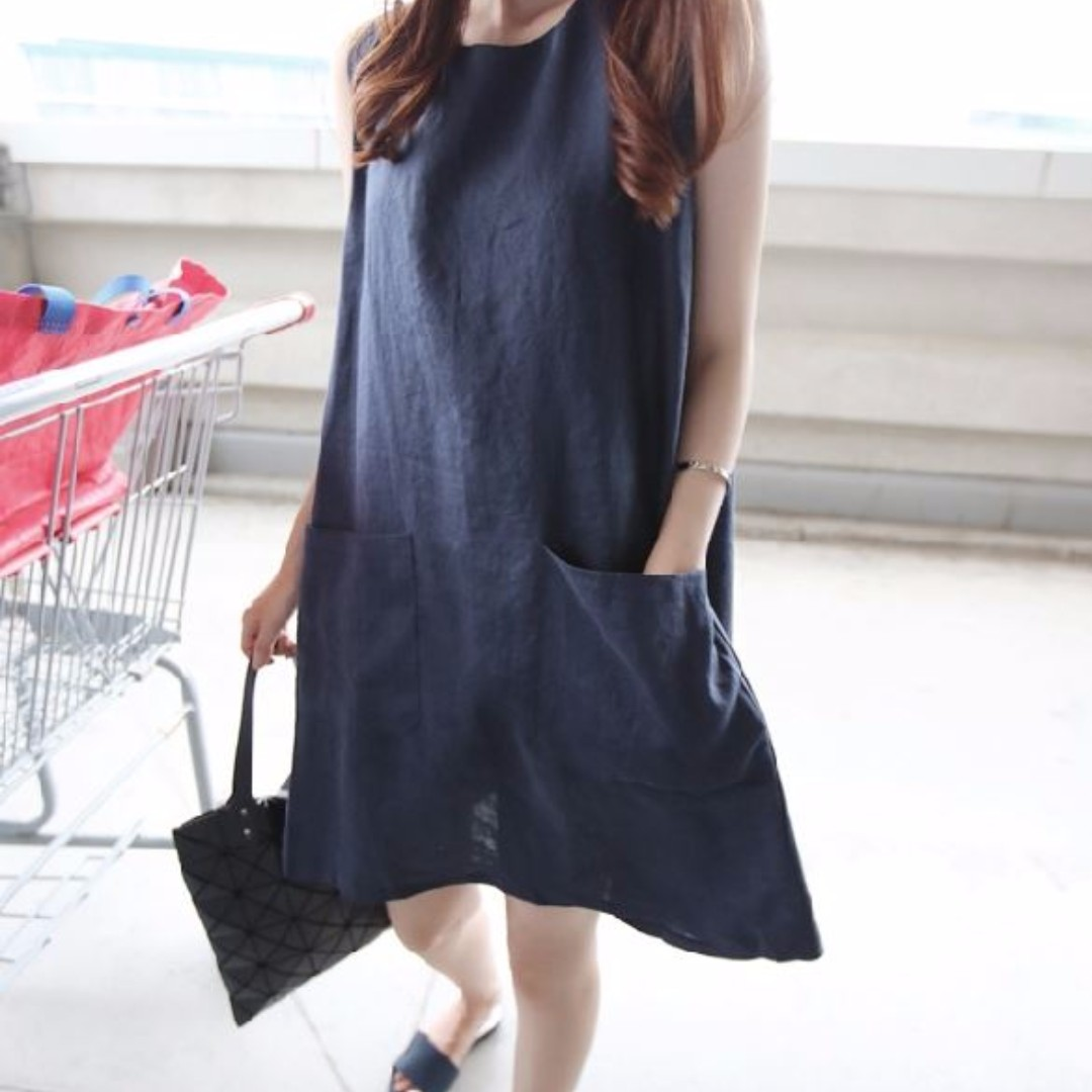 a63f43f74850c Ladies Dress/Casual/Korean Style (Size XXXL) Suitable for Pregnant Lady,  Babies & Kids, Maternity on Carousell