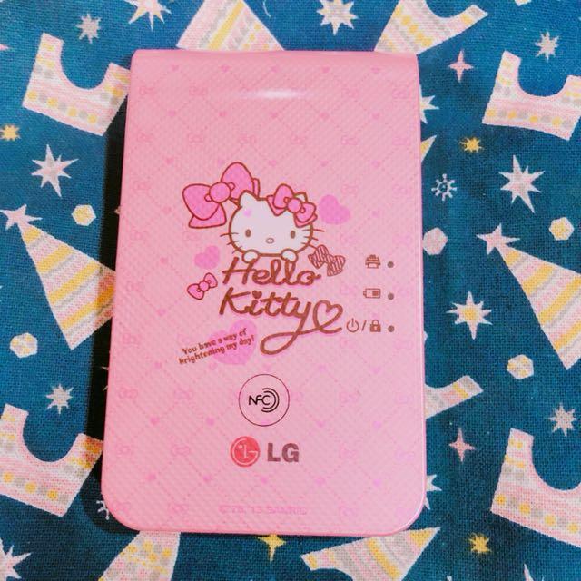 LG Hello Kitty 限量版 相印機