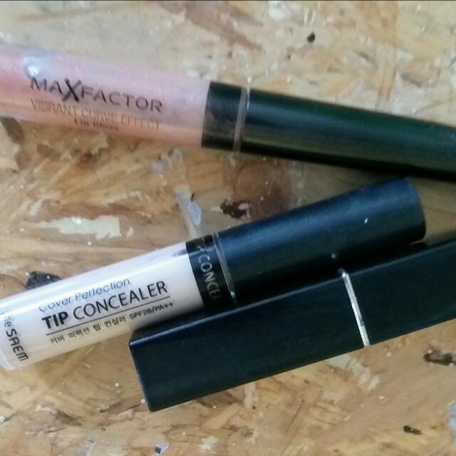 Lipstik Mate Purbasari, Conclear, Lipgloss