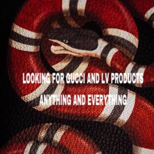Looking For Gucci And LVs