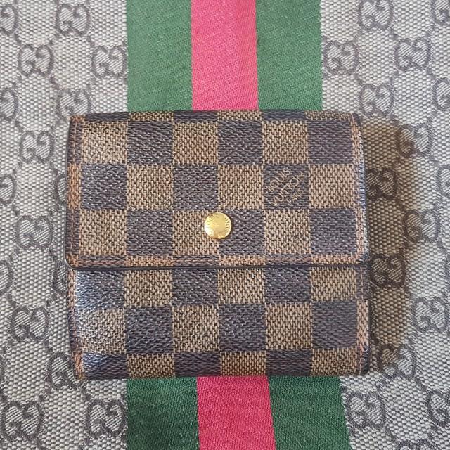 Authentic Louis Vuitton Anais Damier Ebene wallet