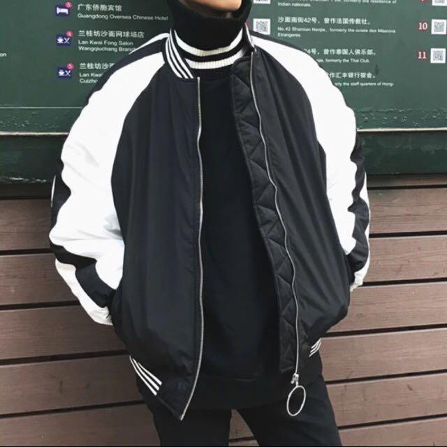 現貨M 圓釦拉鍊鋪棉厚外套