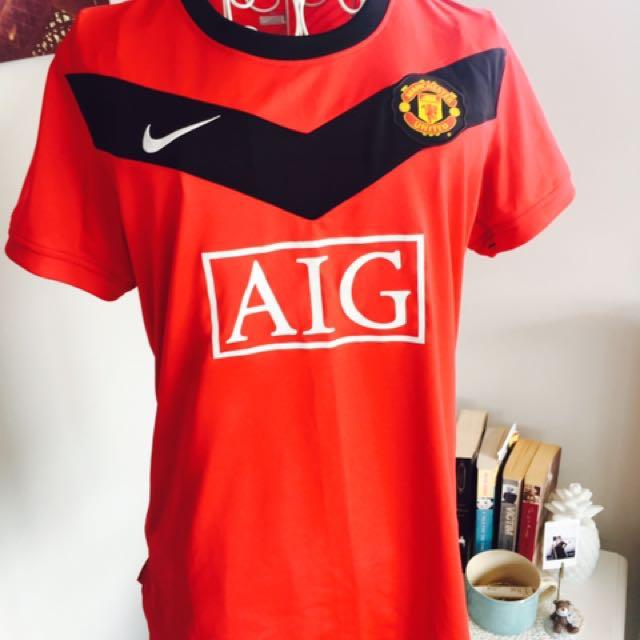 Manchester United Genuine T shirt Women's