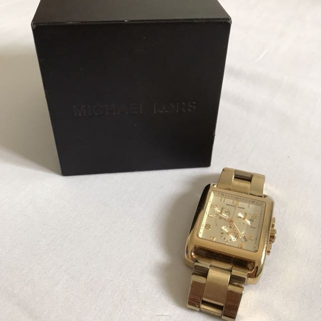 Michael Kors authentic gold watch