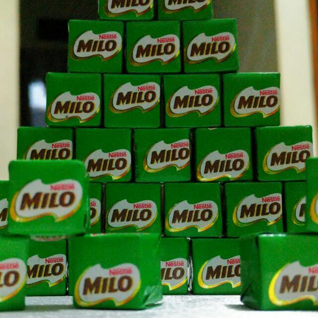 Milo Cubes Lihat Describe Item Ya😆