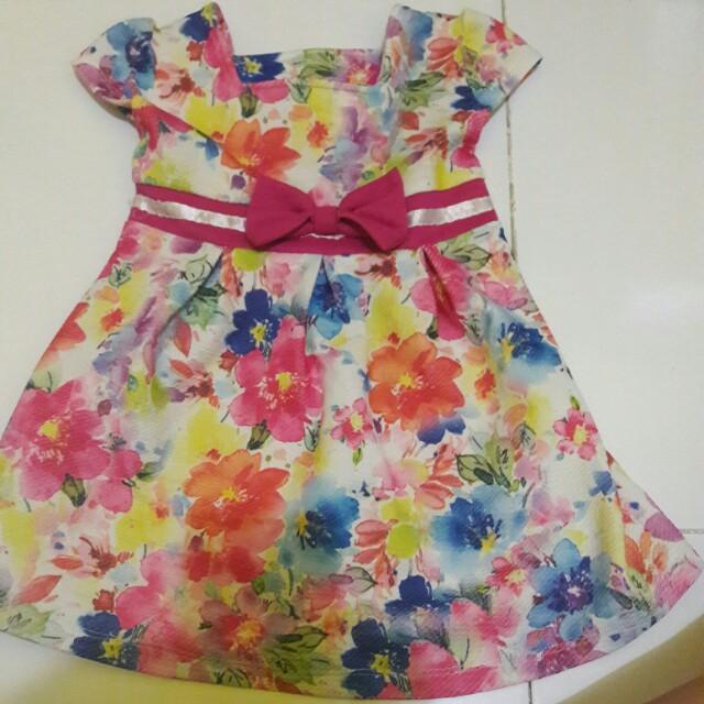 mini dress anak
