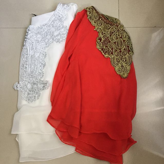Moeslim Outfit with Brokat