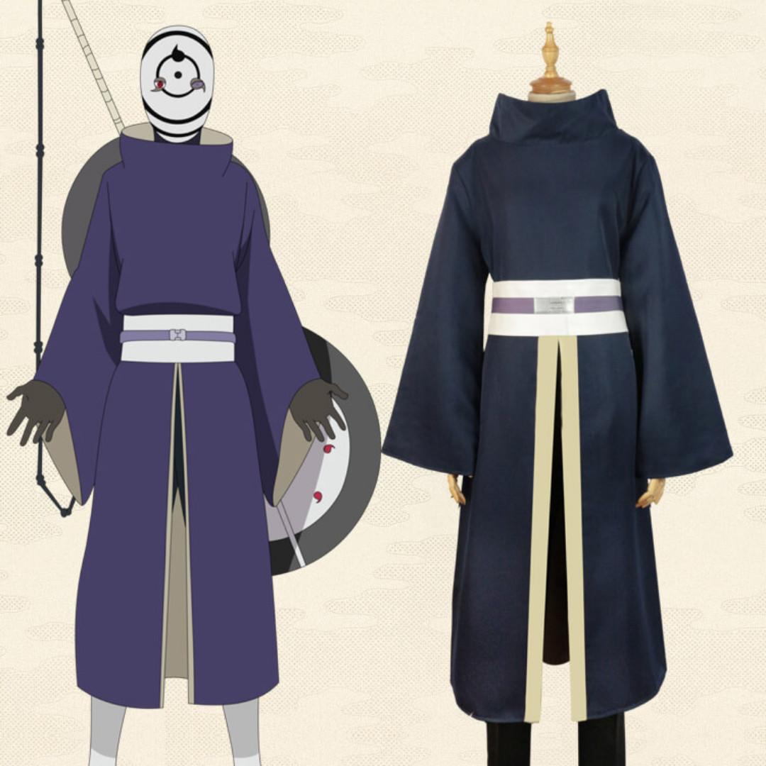 NARUTO Akatsuki Ninja Tobi Obito Madara Uchiha Cosplay costume