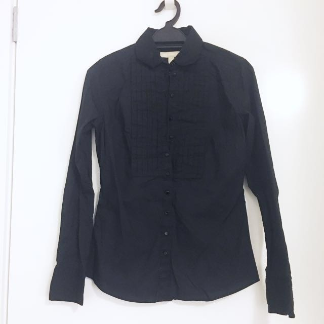 NEW Banana Republic Black Shirt