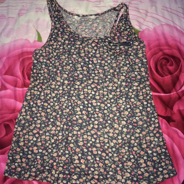 new look floral tank
