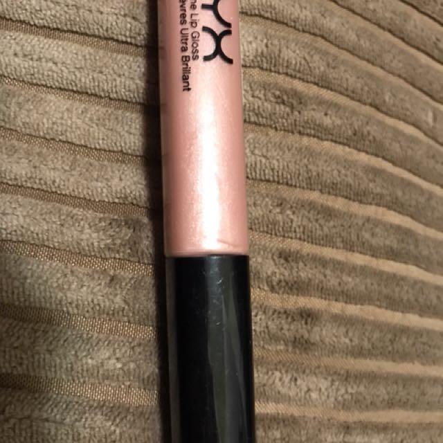 New NYX mega shine lip gloss