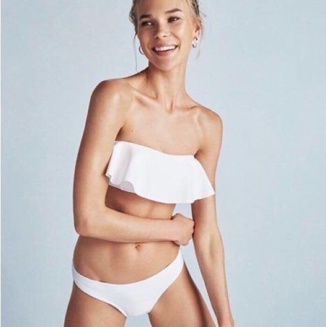 NEW White Bikini Set (Top & Bottom)