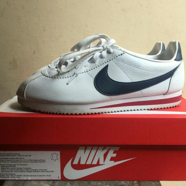 Nike Cortez Original Preloved Fesyen Pria Sepatu Di Carousell