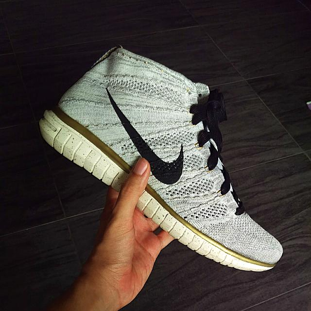 cheap for discount 222bc 56af6 Nike Free Flyknit Chukka  Gold Trophy  Sz 10.5, Men s Fashion, Footwear on  Carousell