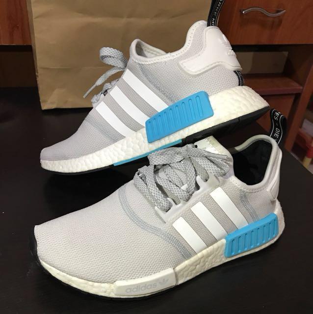 5d0f1c5f4 Nmd R1 Cyan Blue Adidas