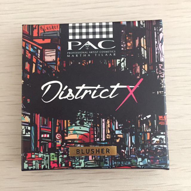 PAC District X, Blusher