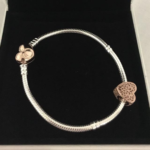 Pandora Bracelet with one charm