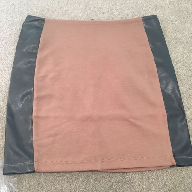 Pleater trim skirt