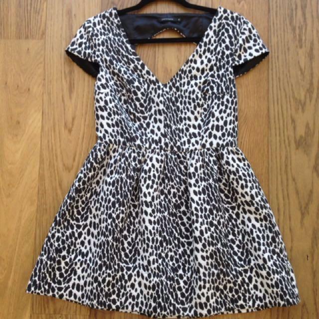 Portmans Print Dress - Size 10