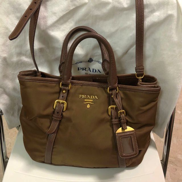 5b16a0686b5c Prada Bauletto Aperto in colour Corinto Ladies Bag (dual shoulder ...