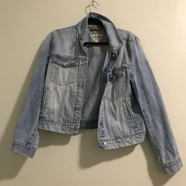 Pull&Bear Real Denim Crop Jacket