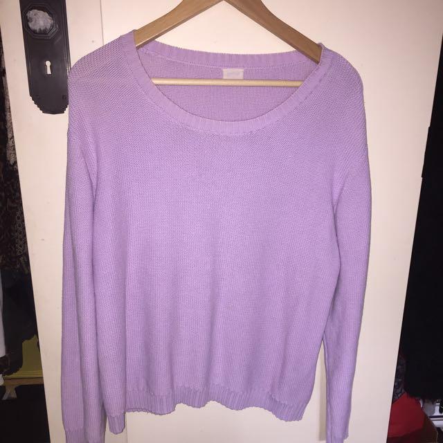 Purple Gorman jumper