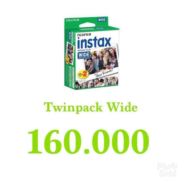 Refill Instax Twinpack Wide