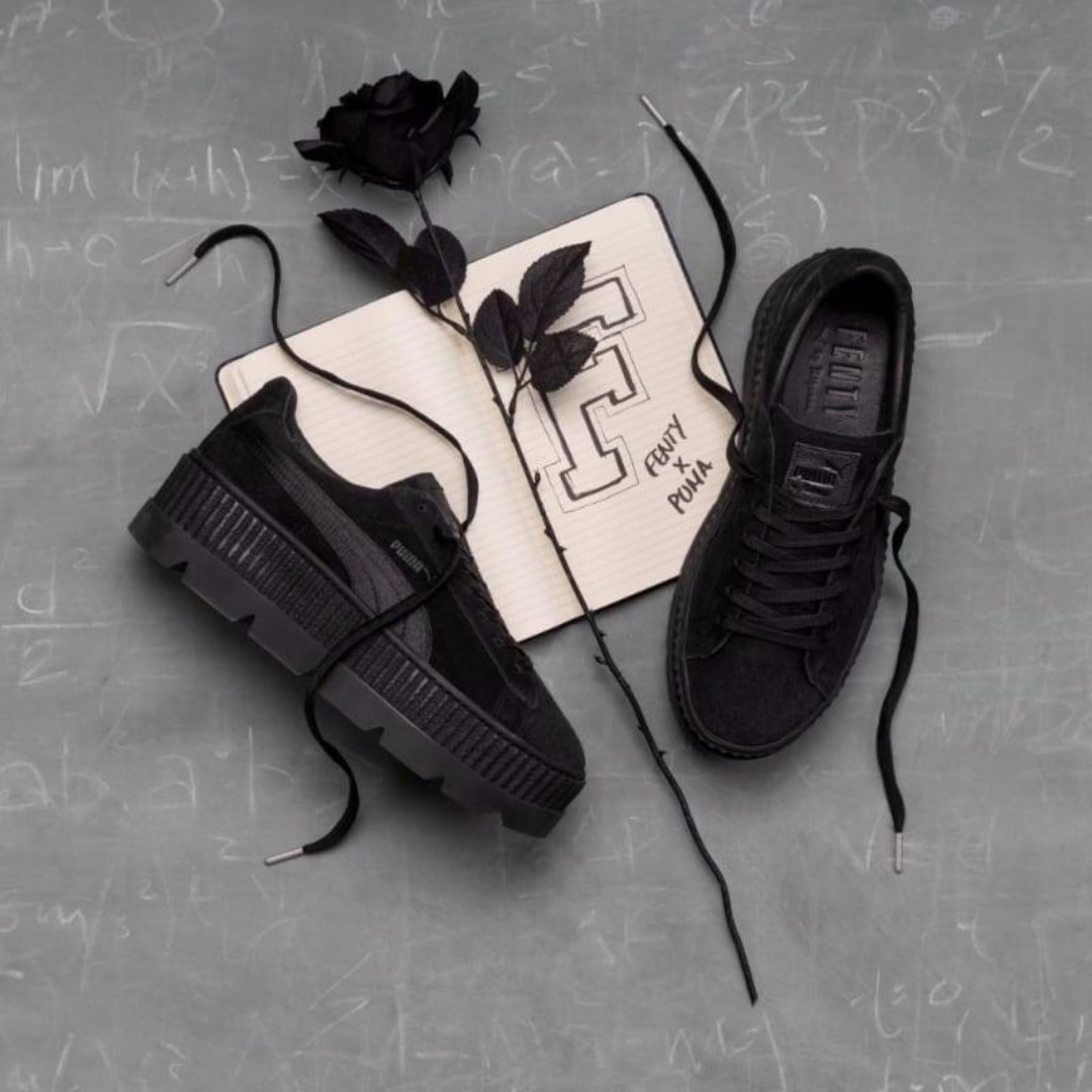 size 40 03c5c 64477 Rihanna x Puma Fenty Cleated Creeper 'Puma Black', Women's ...