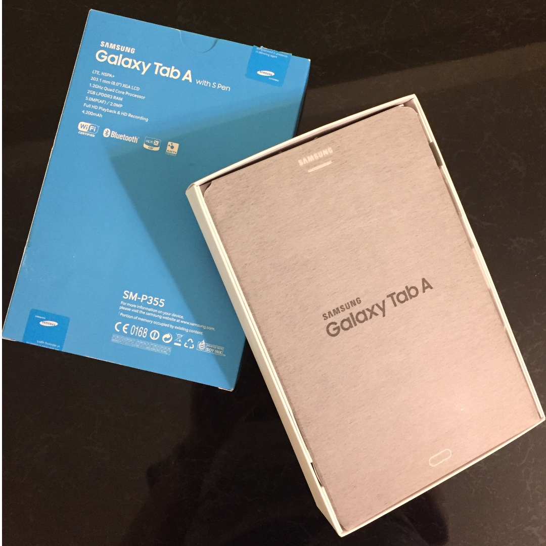 Samsung Galaxy Tab A With S Pen Sm P355 Mobile Phones Tablets On Carousell