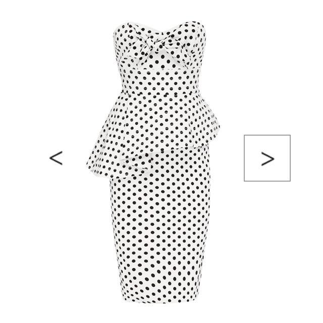 Sheike Vivid Spot Dresss - Size 6