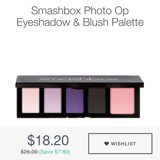 Smashbox Eyeshadow & Blush Palette