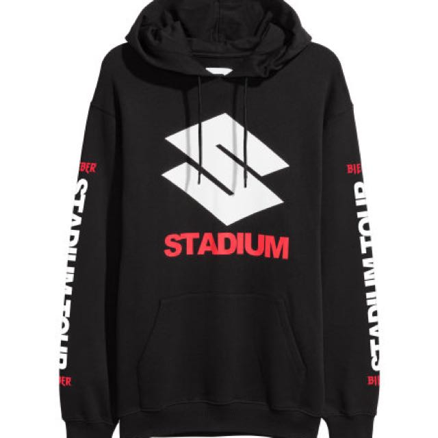 STADIUM X H&M ORIGINAL MERCH JUSTIN BIEBER USA PO ONLY