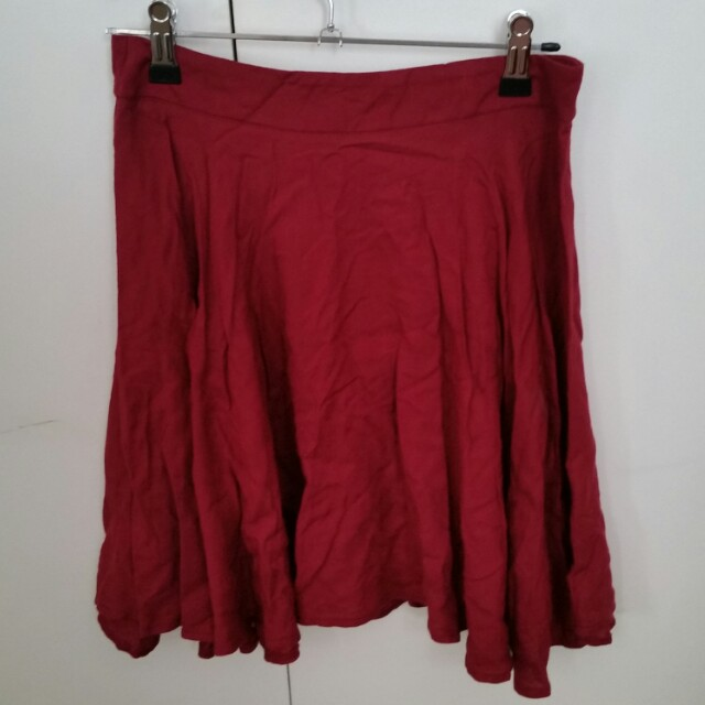 Supre red skirt Size xxs