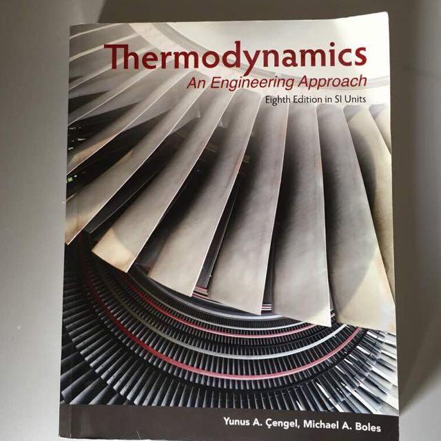 Thermodynamics yunus a cengel 8th edition textbooks on carousell photo photo photo fandeluxe Gallery