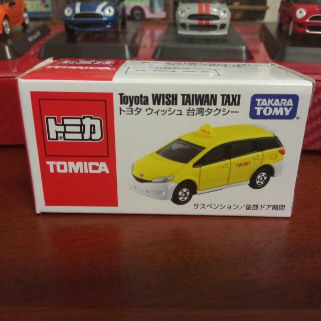 Tomica 台灣大車隊計程車(有貼紙)
