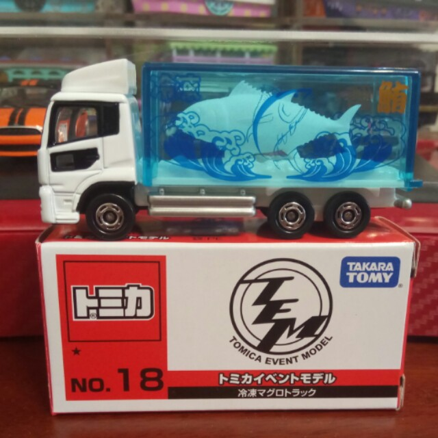 日版Tomica 會場限定no.18冷凍鮪魚車