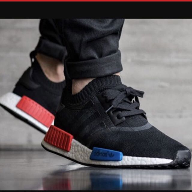5af96601c81b Used Adidas NMD R1 OG US12 UK11.5 rare !