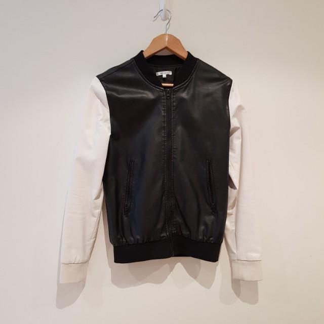 VALLEYGIRL PU Leather Jacket