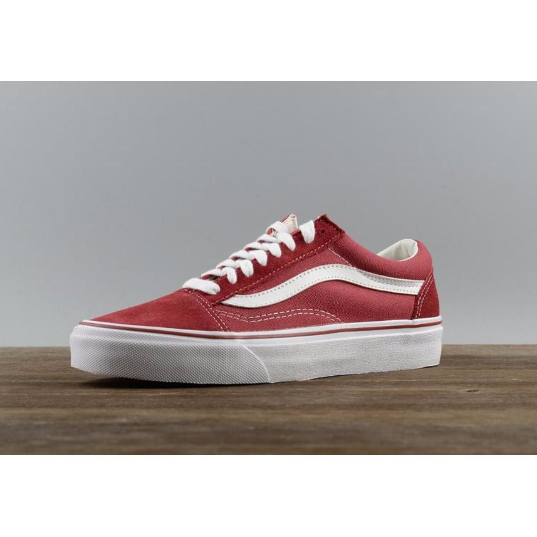 6072de3fad75 VANS Old Skool Classic - Brick Red True White