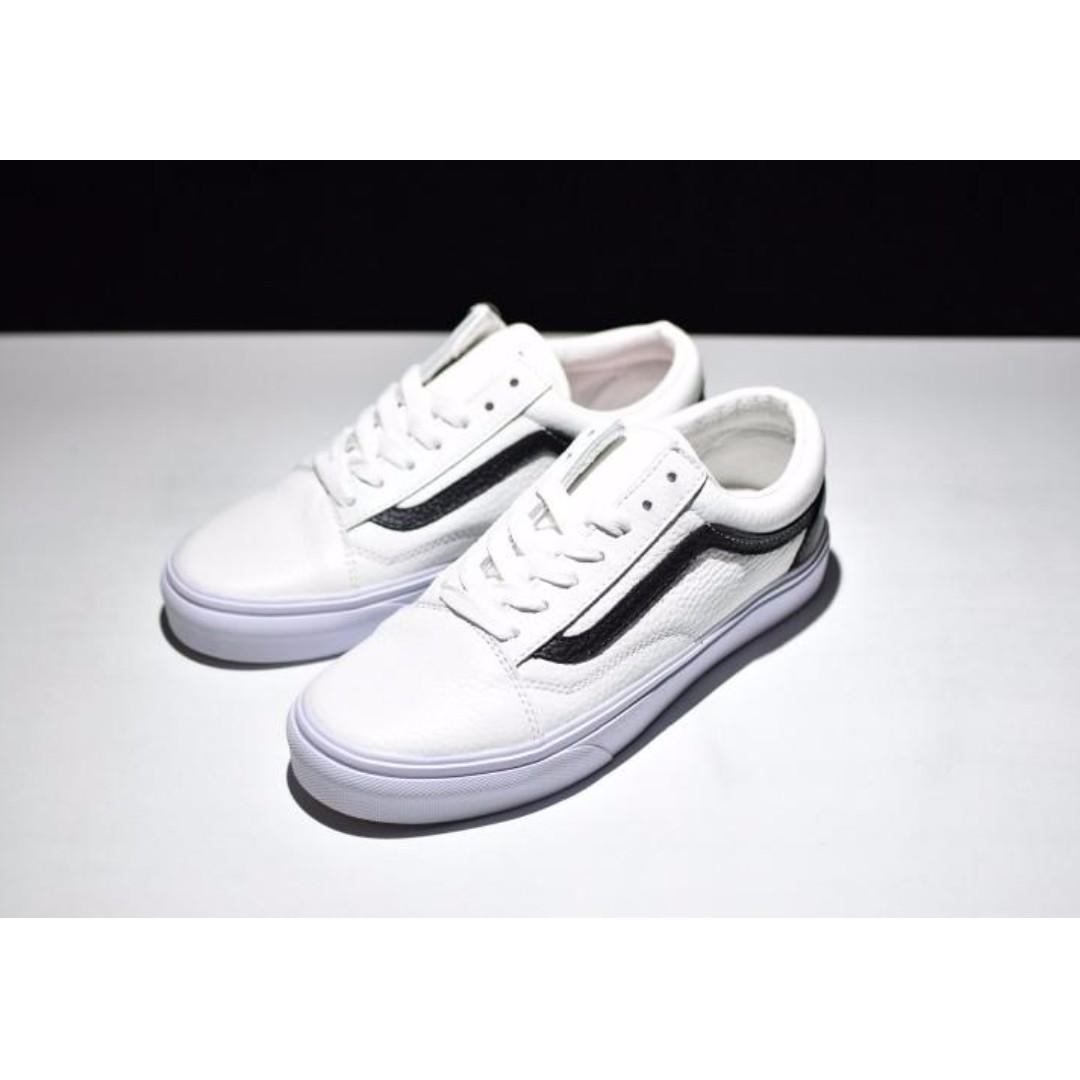 Vans Old Skool OS  White Black  97bf423b2590