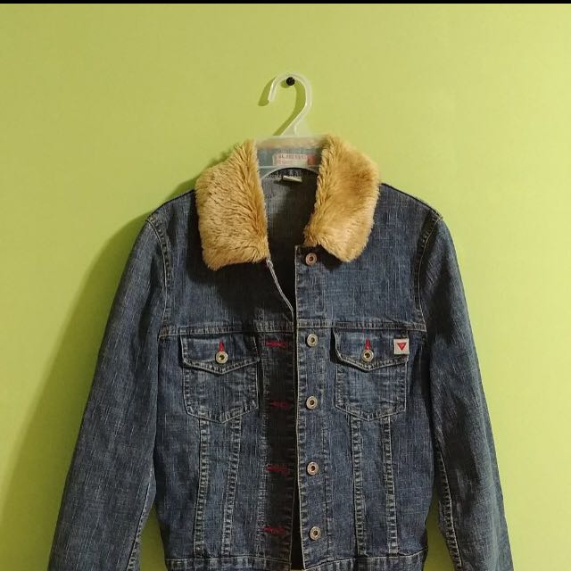 Vintage Guess Denim Jacket-Willing to trade!!!