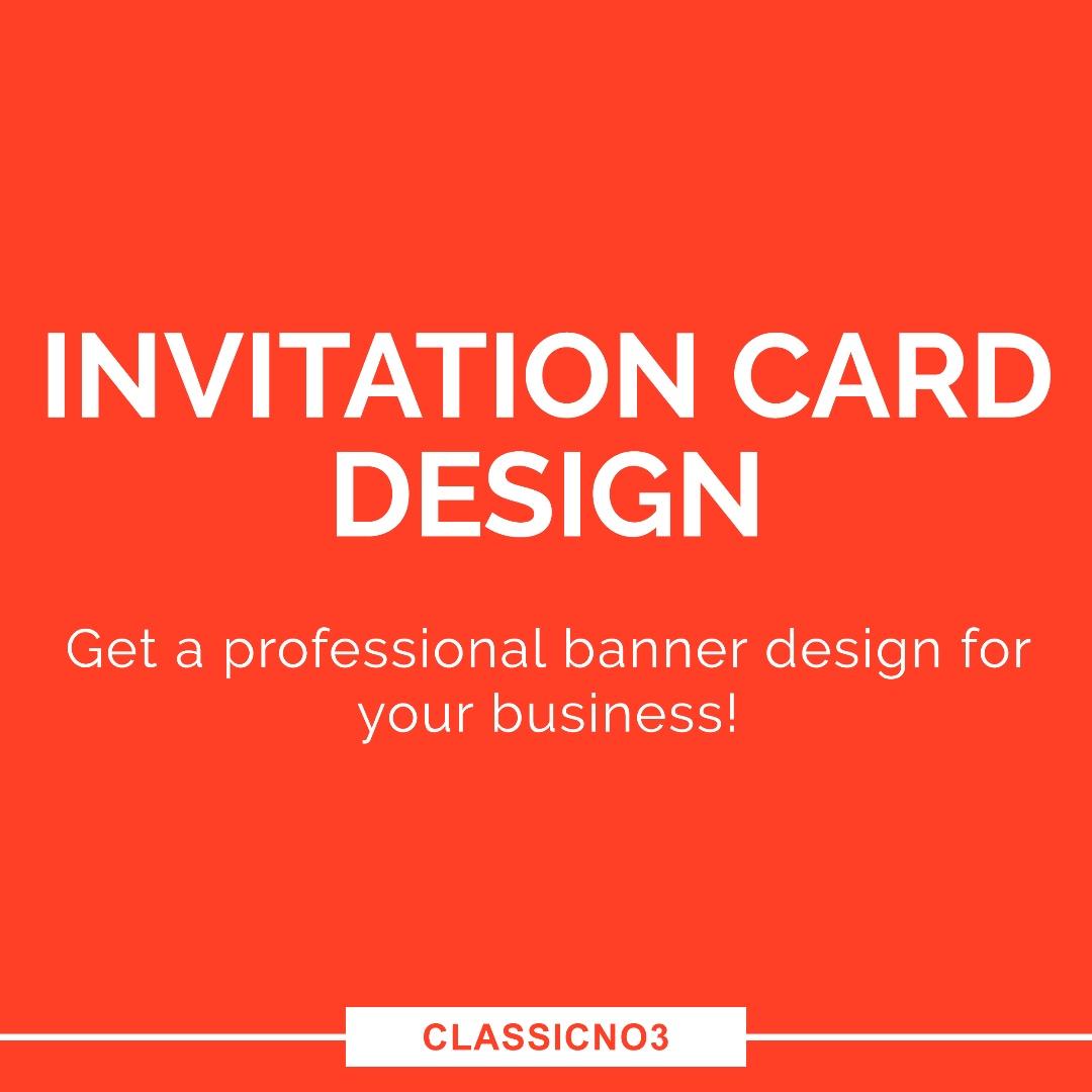 Wedding Invitation Design/Save The Date/ROM Design, Design & Craft ...
