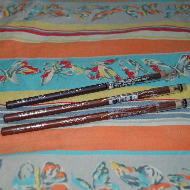 Wet n Wild Coloricon Lip Liner Bundle