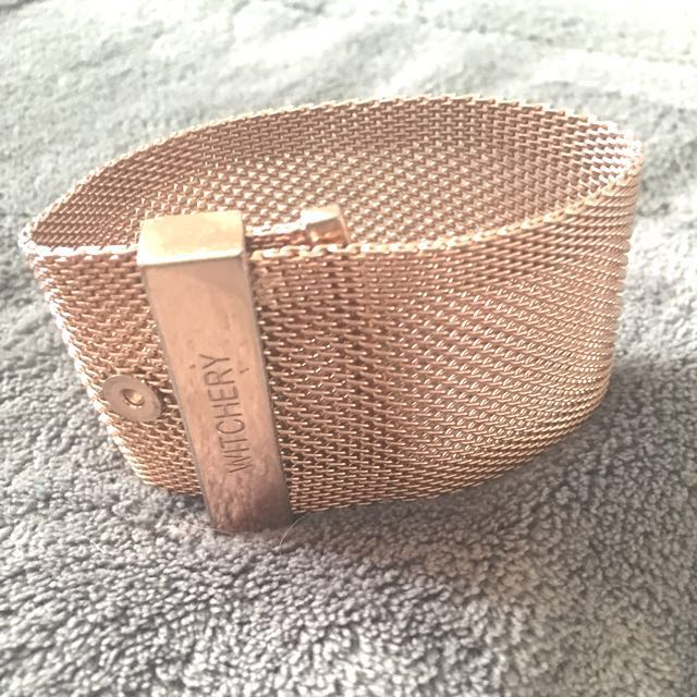 Witchery Gold/Rose Gold Bracelet