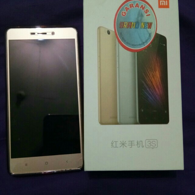 Xiaomi redmi 3s 2/16 gold