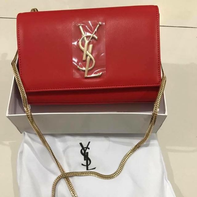 Yves Saint Laurent YSL Sling Chain Bag