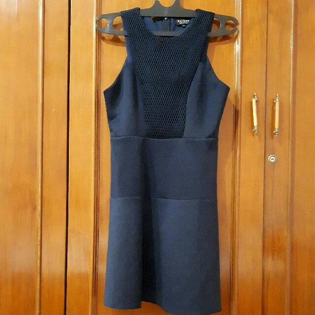 zalora racer fit and flare dress