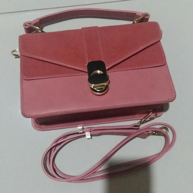 ZARA (hand & cross body) bag