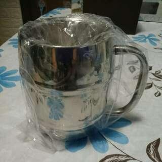 不銹鋼保溫杯(有盒,盒舊)