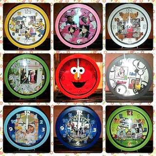 Jam Dinding Foto Custom